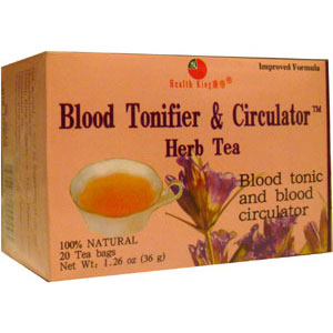 Blood Tonifier & Circulator Herb Tea