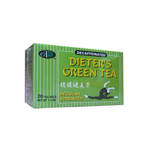 Dieter's Green Tea - Regular Strength
