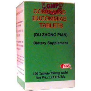 Fu Fang Du Zhong Pian Compound Eucommiae Tablets