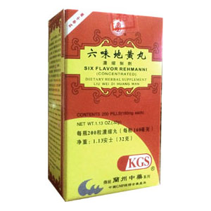 Liu Wei Di Huang Wan - Six Flavor Rehmanni