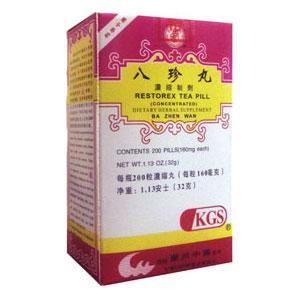 Restorex Tea Pill Ba Jen Wan (Ba Zhen Wan)
