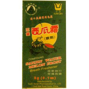 Sanjin Watermelon Frost Powder Spray (Xi Gua Shuan)