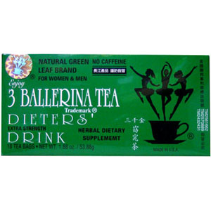 Dieters Drink - 3 Ballerina Tea