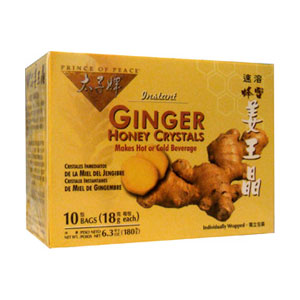 Ginger Honey Crystals (Tea)