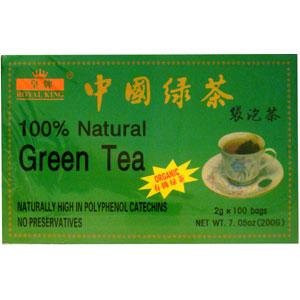 Organic Green Tea (100 bags)