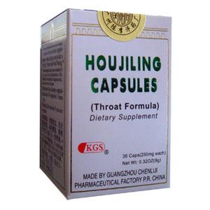 Hou Ji Ling Capsules (Throat Formula)