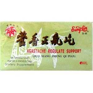 Agastaches Regulate Support (Huo Xiang Zheng Qi Pian)