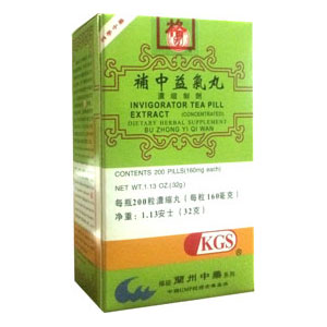 Invigorator Tea Pill Extract (Bu Zhong Yi Qi Wan)