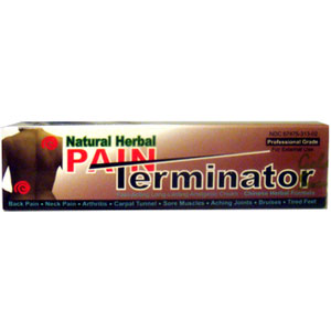 Golden Sunshine Natural Herbal Pain Terminator
