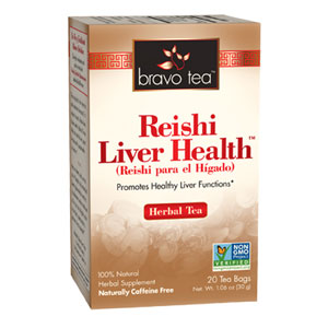 Reishi Liver Health Herbal Tea