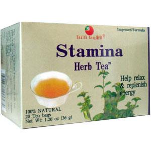 Stamina Herb Tea