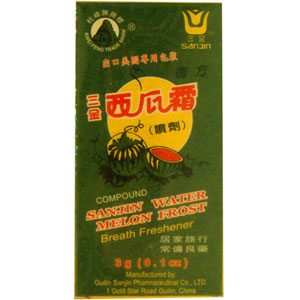 Sanjin Watermelon Frost Powder Spray (Xi Gua Shuan)