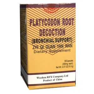 Platycodon Root Decoction - Zhi Qi Guan Yuan Wan